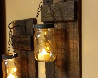 Candles Home Decor ad 02 elegant living room home decor Rustic Farmhouse Decor Mason Jar Candles Rustic Home Decor Sconces Candle Holder