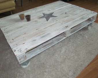 """""""Star"""" from well-traveled industrial pallet pallet table *."""