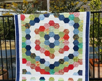 Handmade Single quilt, made to order.