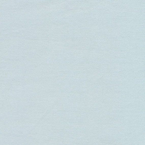 Organic Monaluna pale aqua blue solid plain colour cotton fabric fat quarter