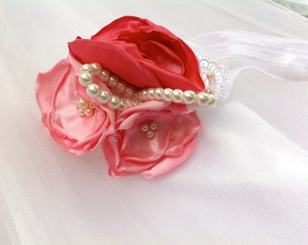 Satin Flowers, Handmade