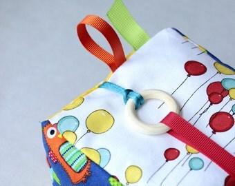 Soft Baby Block, Sensory Baby Toy, Montessori