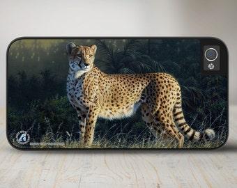 "Cheetah iPhone 5 Case, Cheetah iPhone 5s Case, Cheetah iPhone Case Protective Cheetah Phone Case ""Duma"" 50-8262"