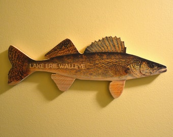 Lake Erie Walleye Wall Art