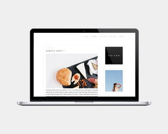 Premade Blogger Template | Poison