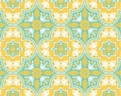 Notting Hill, Historic Tile in Canary by Joel Dewberry for Free Spirit Fabrics 4103