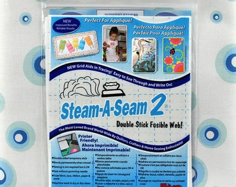 """Steam-A-Seam 2 by Warm Company 9""""x12"""" sheets, 5 sheets per package 9506"""