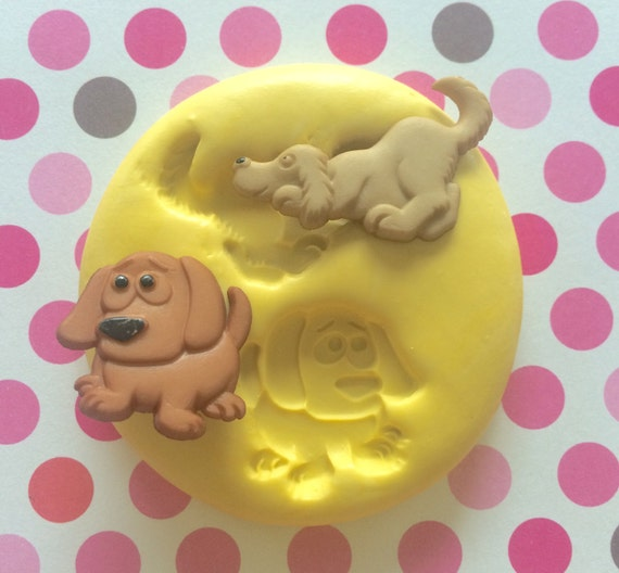 Dog Safe Cake Decorations : PUPPY Dog Silicone MOLD Cake Decoration Fondant Mold