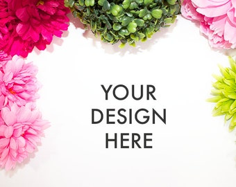 Flower Stock Photo / Styled Stock Photography / Scene / Product Mockup / Photography Background / Flower / High Res File