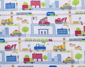 Boys Cotton Print Fabric