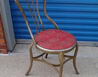 Toledo uhl steel art industrial ice cream chair vintage steampunk desk dining