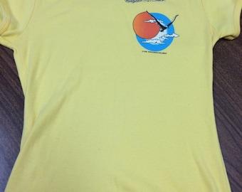 Awesome Vintage 1982 Houghton Lake, Michigan Women's T-Shirt
