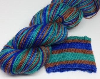 "Simple Sock Self-Striping ""Off-Leash Beach"" DL4"