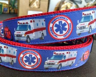 """EMT  1"""" Width Adjustable Dog Collar"""