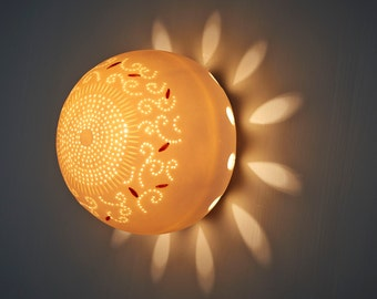 Sconce. Wall light fixture. Living room light. Wall mount light. Decorative light. Made to order.