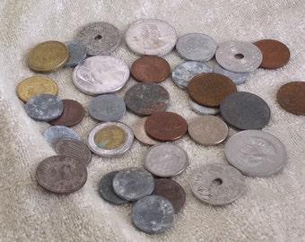 Vintage International Coins 30
