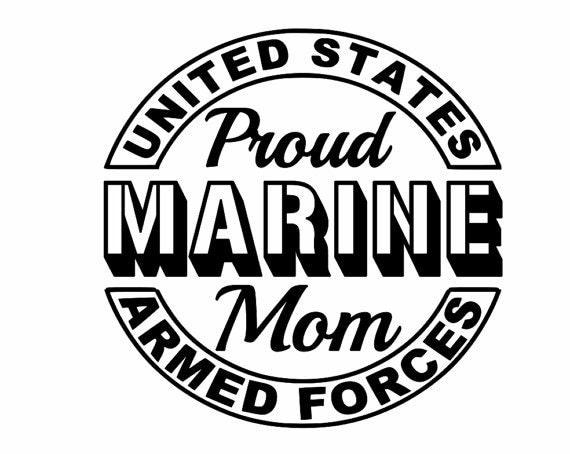 100+ Proud Marine Mom Of A United States – yasminroohi