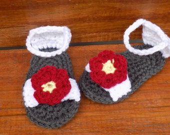 Crocheted Sandal Pattern