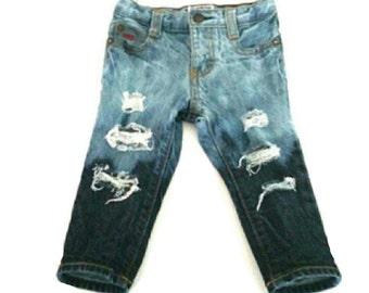 Erosion Jeans/Shorts