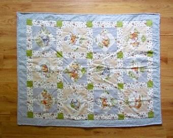 Vintage Winnie the Pooh Blanket RTS