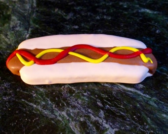 Gourmet Organic Dog Bakery: Homemade Hotdog - Dog Cookie
