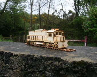 Diesel Locomotive Train Kit