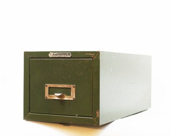 1960's Steelmaster File Drawer