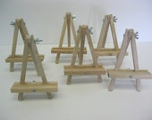6pcs Mini Table Easel 6''inch great for displaying