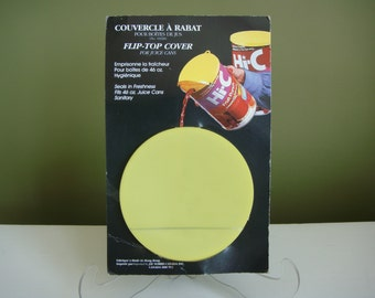 Vintage Flip-Top Cover for Large Juice Cans