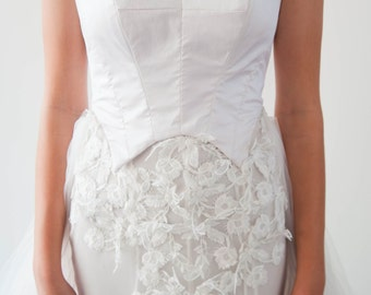Alexis Gown - with removable Tulle Skirt -  SAMPLE SALE