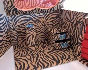 Jewelry organizer box butterfly
