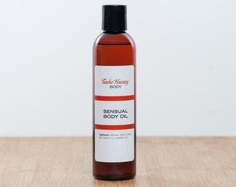 Sensual Body Oil, Body Oil, Natural Body Oil