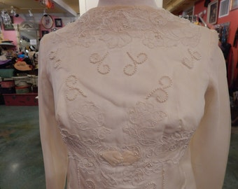 Vintage 1930's Wedding dress