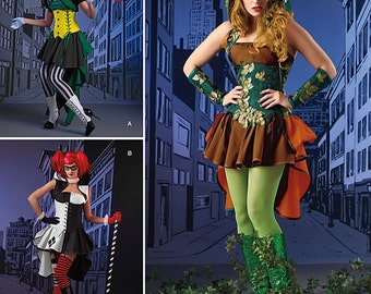 Simplicity Pattern 1091 Misses' Costume