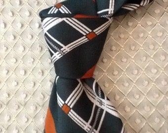 "Men's Polyester Necktie,""National Shirt Shops"""