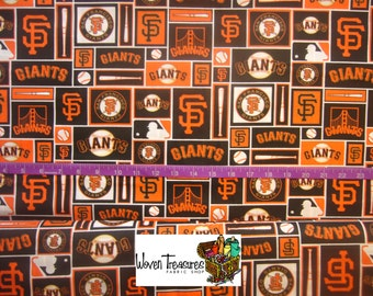 MLB San Francisco Giants Framed - Fabric Traditions - Cotton fabric - Choose your cut