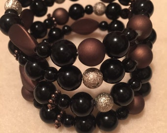 On Sale!!!!Wrap Around beaded Bracelet