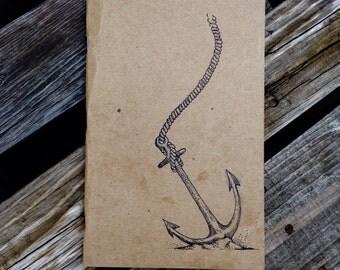 Anchor Nautical journal/sketchbook