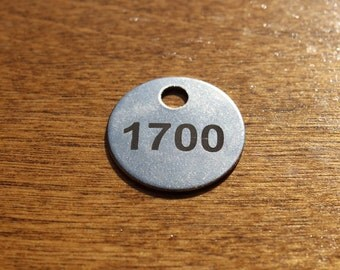 20 Gauge 1 Inch Stainless Steel Tags For Endless Uses