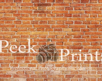 6ftt.x4ft. Red Faded  Brick Photo Background- Photgraphy Backdrop