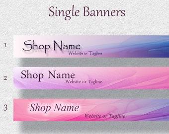 Single Banner