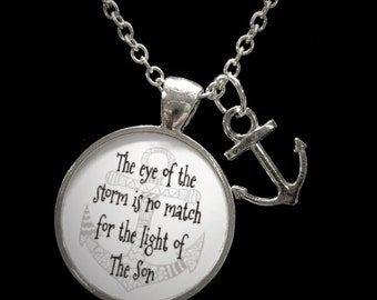 Anchor The Eye Of The Storm Necklace