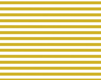 Yellow and White Stripes, Digital Paper