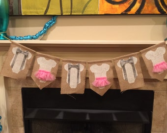Bow Tie or Tutu Gender Reveal Decoration