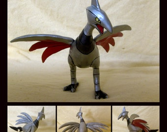 Skarmory OOAK  Hand-Made Sculpture