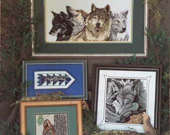 Wolves Cross Stitch Pattern