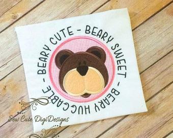 Beary Cute - Beary Sweet - Beary Huggable