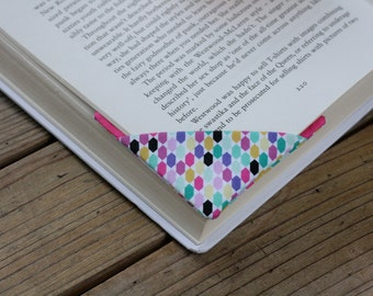 2 corner bookmarks - Mix