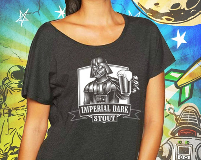Star Wars / Darth Vader / Vintage Black Women's Dolman T-Shirt
