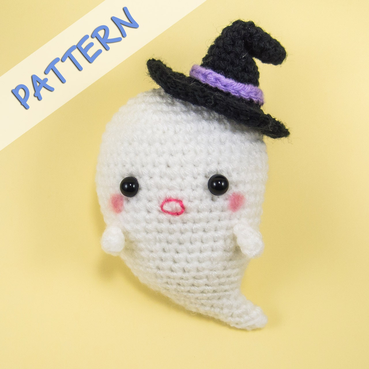 Ghost Stuffed Toy Pattern Amigurumi Ghost by ...